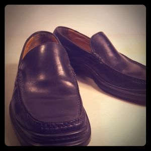 Men's Black Cole Haans Loafers Size 10 M Pre-owned